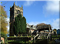 SJ7483 : St. Mary's Church, Rostherne by JThomas