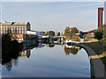 TQ3784 : Stratford, River Lee Navigation by David Dixon