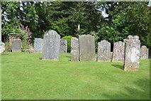 TQ5243 : Graves, Church of St John the Baptist by N Chadwick
