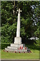 TQ5446 : Leigh War Memorial by N Chadwick