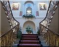 TL2113 : Interior Staircase of Brocket Hall, Hatfield, Hertfordshire : Week 46