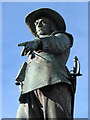 TL3171 : St Ives: the statue of Oliver Cromwell : Week 46