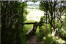 TQ5143 : Stile by the Eden Valley Walk by N Chadwick