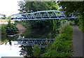 SJ9001 : Pipe bridge across the Staffordshire and Worcestershire Canal by Mat Fascione