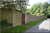 TQ4945 : Wall, Tye Grass by N Chadwick