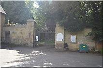 TQ5045 : Chiddingstone Castle entrance by N Chadwick