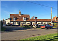 TL6855 : The Red Lion at Kirtling Green by John Sutton