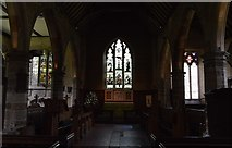 TQ5045 : Church of St Mary - interior by N Chadwick