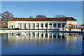 TR3764 : Boating pond, West Cliff, Ramsgate : Week 48
