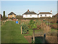SU8496 : Allotments, Naphill by Des Blenkinsopp