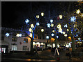 TG2308 : Christmas decorations at Westlegate by Evelyn Simak