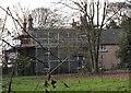 SK4664 : Ault Hucknall, Nr Glapwell, Derbyshire by David Hallam-Jones