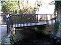 SU3987 : Footbridge over the mill stream, Wantage by Alex Passmore