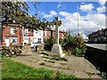 SJ9091 : Portwood War Memorial by Gerald England