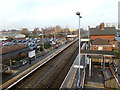 TM1279 : Diss Railway Station by Adrian Cable