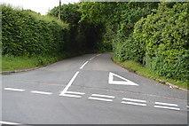 TQ5246 : B2176, B2927 junction by N Chadwick
