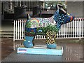 NZ2464 : Great North Snowdog Tails of the North East, Newcastle Civic Centre, Newcastle upon Tyne by Graham Robson