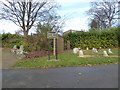 SJ8850 : Burslem Cemetery: North Garden of Remembrance by Jonathan Hutchins