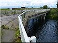 TL4898 : Iron Bridge crossing the Sixteen Foot Drain by Mat Fascione