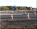 TG1715 : The new Reepham Road roundabout by Evelyn Simak