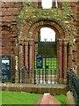 NU1241 : Lindisfarne Priory by Alan Murray-Rust