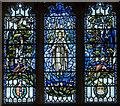 SK9227 : East window, Ss Andrew & Mary church, Stoke Rochford by Julian P Guffogg
