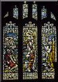SK9227 : Stained glass window, Ss Andrew & Mary church, Stoke Rochford by Julian P Guffogg