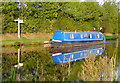 SJ3731 : Narrowboat at Frankton Junction, Shropshire by Roger  Kidd