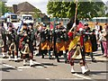 TQ0050 : Guildford - Pipe Band by Colin Smith