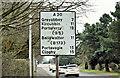J4973 : Route confirmatory sign, Portaferry Road, Newtownards (January 2017) by Albert Bridge