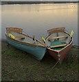 TA1947 : Hornsea Mere rowing boats : Week 3