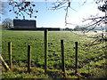 H4869 : Frosty posts, Edenderry by Kenneth  Allen