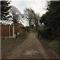 SK4934 : Path beside the Erewash by David Lally