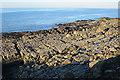 NJ9166 : Metamorphic Rock by Anne Burgess