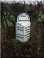 SE0849 : Milestone on Ilkley Road by JThomas