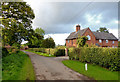 SJ5245 : Cook's Lane near Bell o' th' Hill, Cheshire by Roger  Kidd