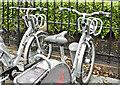 J3474 : Belfast Bikes, Corporation Square (February 2017) by Albert Bridge