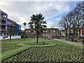 SJ8546 : Newcastle-under-Lyme: Queen's Gardens by Jonathan Hutchins