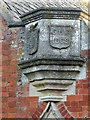 SK6912 : Datestone, Gaddesby School by Alan Murray-Rust