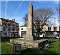 SY2998 : Axminster War Memorial by Jaggery