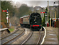 SD7916 : Arriving at Ramsbottom Station by David Dixon