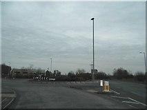 TL0246 : Roundabout on Woburn Road, Kempston by David Howard
