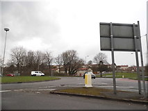 TL1022 : Roundabout on Vauxhall Way, Luton by David Howard