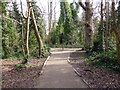 TQ6001 : Footpath Junction in Hampden Park by PAUL FARMER