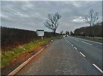 TL0739 : Lay by on Deadman's Hill, Clophill by David Howard