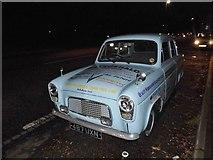 TL0825 : 1950s Ford Anglia on Barton Road, Luton by David Howard