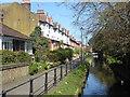 TQ3296 : Riverside houses in Enfield : Week 11