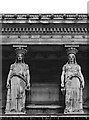 TQ2982 : Caryatids, St Pancras New Church by Julian Osley