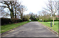 TG2123 : Driveway to the Huntercombe Hospital by Evelyn Simak