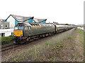 SW4931 : Sleeper train at Long Rock by Gareth James